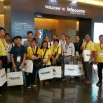 ศึกษาดูงาน Infocomm SOUTH EAST ASIA
